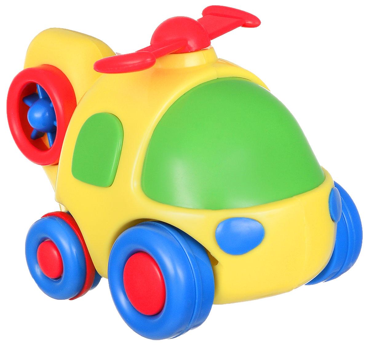 Simba Вертолет инерционный цвет желтый simba машинка игрушка лев