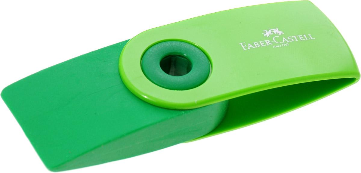 Faber-Castell Ластик Sleeve цвет зеленый263396_зеленыйЛастик Sleeve Faber-Castell станет незаменимым аксессуаром на рабочем столе не только школьника или студента, но и офисного работника. Аккуратный и не оставляет грязных разводов. Кроме того высококачественный ластик не содержит ПВХ. Не повреждает бумагу даже при многократном стирании. Специальный удобный пластиковый футляр позволит защитить ластик от повреждений.