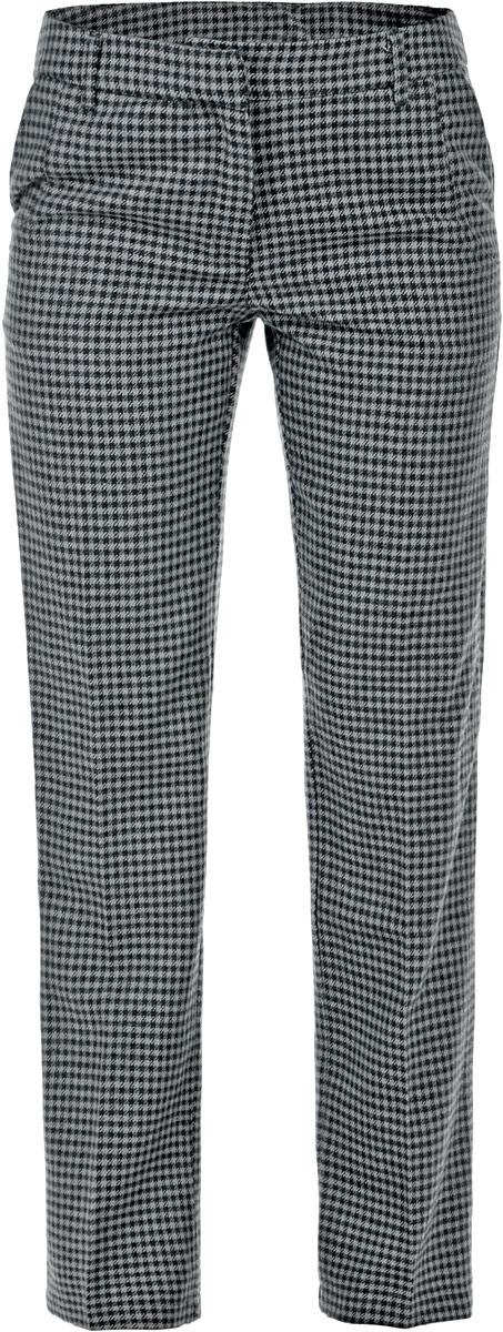 Брюки женские Baon, цвет: серый. B295530. Размер M (46)B295530Классические женские брюки Baon из ткани с добавлением шерсти - элегантный вариант для холодной погоды. Материал изделия украшен всегда актуальным узором гусиная лапка. Изделие застёгивается на пуговицу и потайной крючок в поясе и ширинку на застежке-молнии, пояс дополнен шлевками для ремня. По бокам и сзади расположены по два врезных кармана.Эти модные и в тоже время комфортные брюки послужат отличным дополнением к вашему гардеробу. В них вы всегда будете чувствовать себя стильно и уверенно.