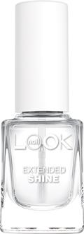 Nail LOOK Блестящее верхнее покрытие для ногтей, 12 мл40132создает плотную глянцевую пленку· защищает лак от потускнения· значительно продлевает время носки лака