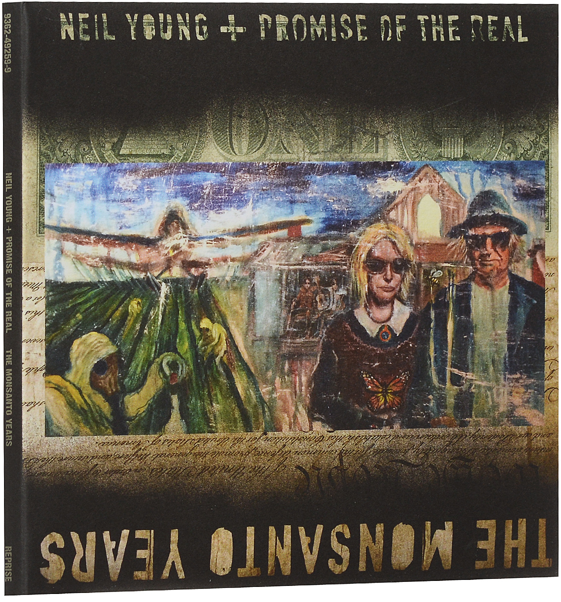 Нил Янг,Promise Of The Real Neil Young + Promise Of The Real. The Monsanto Years (CD + DVD) виниловая пластинка young neil promise of the real the monsanto years limited