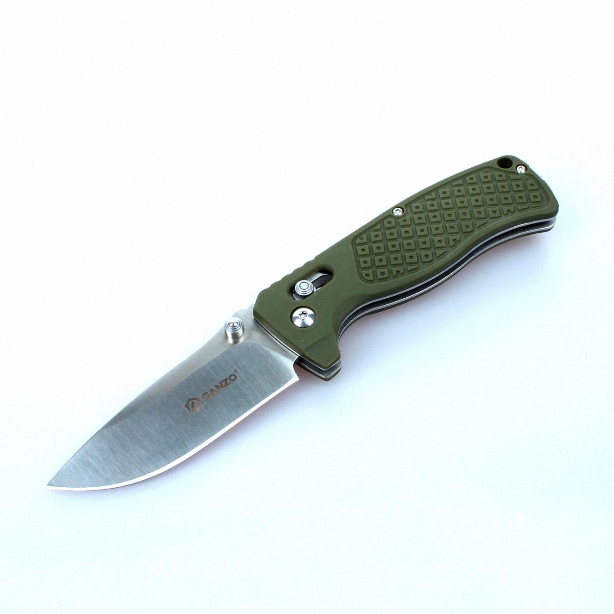 Нож Ganzo G724M зеленый