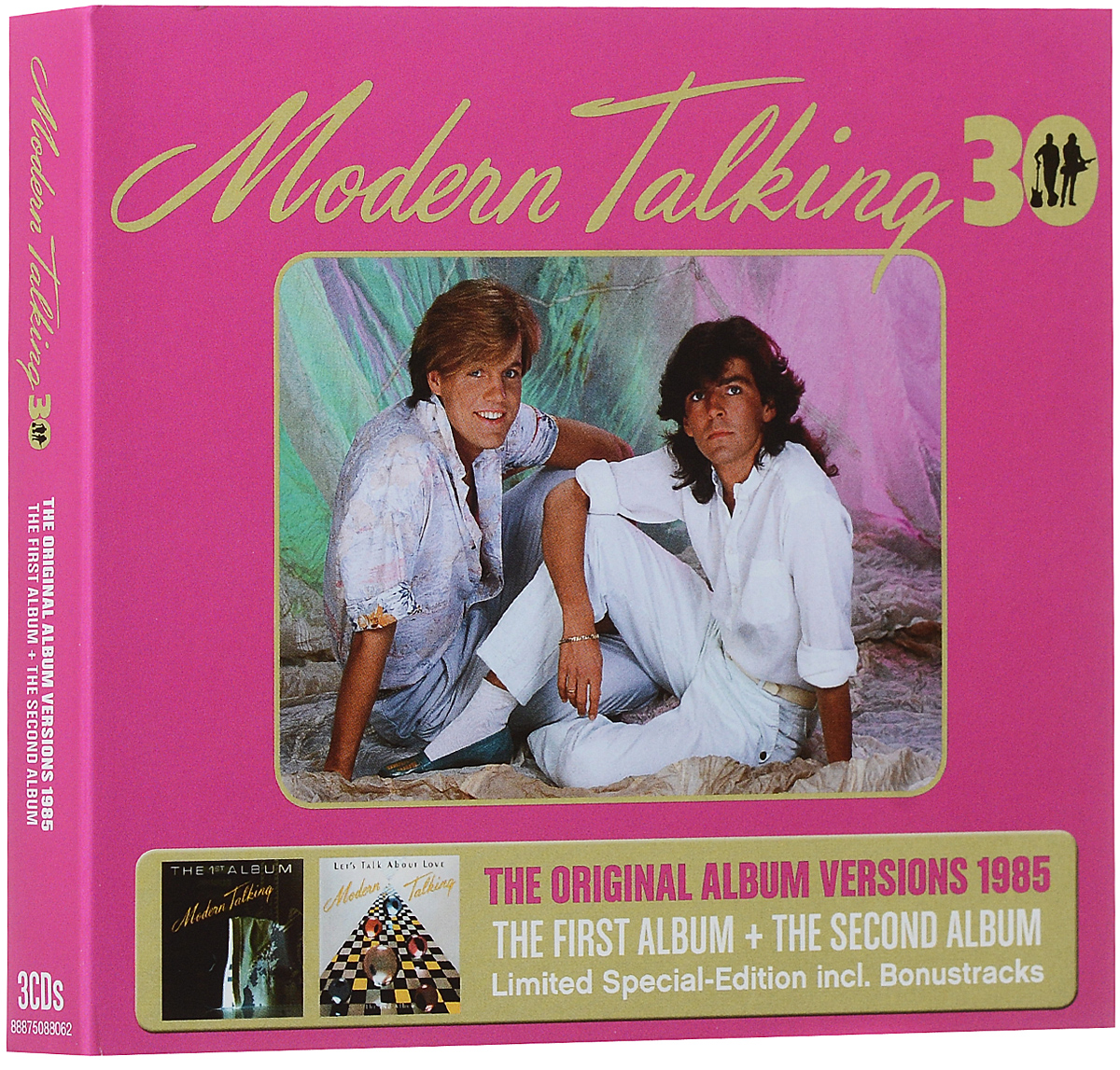 Modern Talking Modern Talking. The Original Album Versions 1985. Limited Special-Edition (3 CD) selena limited edition picture disc cd rare collectible music display