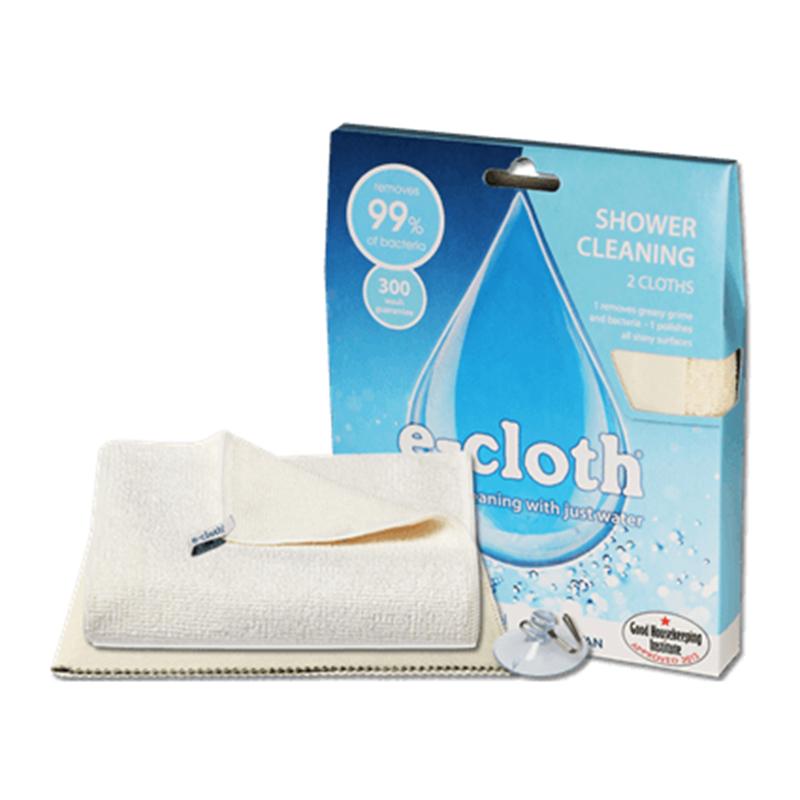 Набор для уборки в душе  E-cloth , цвет: молочный, 3 предмета - Инвентарь для уборки