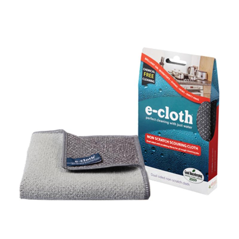 Салфетка для кухни E-cloth, 32 см х 32 см20416Салфетка E-cloth - это готовое решение для поддержания кухни в чистоте без использования химических средств. Изделие выполнено на 85% из полиэстера и на 15% из полиамида. Двусторонняя салфетка специально разработана для очистки всех кухонных поверхностей и мытья посуды. Легко удаляет жир, отпечатки пальцев и бактерии без использования химикатов. Достаточно лишь смочить салфетку водой для очистки поверхности от жира и других загрязнений. Шероховатая сторона салфетки предназначена для очистки въевшихся загрязнений, а гладкая - для окончательной очистки и полировки. Удаляет свыше 99% бактерий. Выдерживает до 300 циклов стирки без потери эффективности.Размер салфетки: 32 см х 32 см.