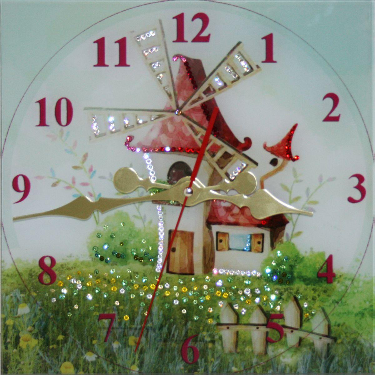 1642 Часы СваровскиСказочный мир1642Часы без багета, инкрустированные кристалами Сваровски.