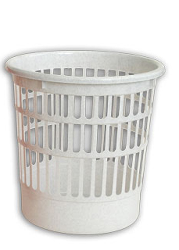 Корзина для мусора. С919, цвет: белыйС919Корзина для мусора