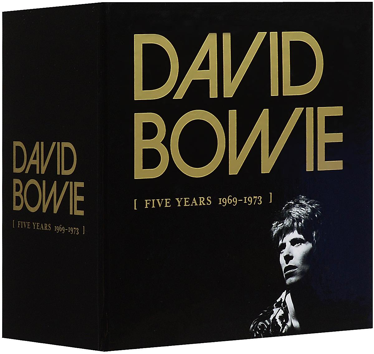 Дэвид Боуи David Bowie. Five Years 1969-1973 (12 CD) cd диск david bowie let s dance 1 cd