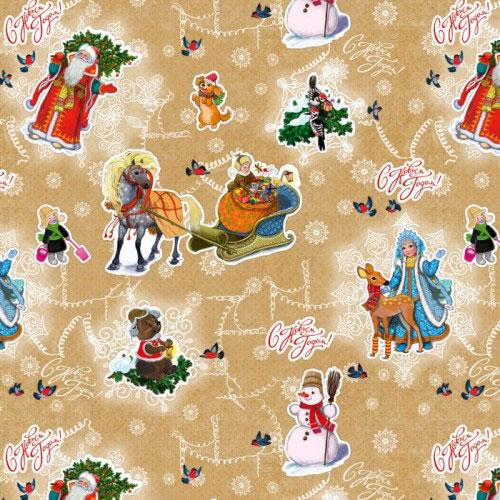Бумага упаковочная Феникс-презент Новогодняя сказка, 100 х 70 см39071Подарочная упаковочная бумага Феникс-презент Новогодняя сказка оформлена полноцветным новогодним рисунком. Подарок, преподнесенный в оригинальной упаковке, всегда будет самым эффектным и запоминающимся. Бумага с одной стороны мелованная. Окружите близких людей вниманием и заботой, вручив презент в нарядном, праздничном оформлении.Размер: 100 см х 70 см.Плотность бумаги: 80 г/м2.