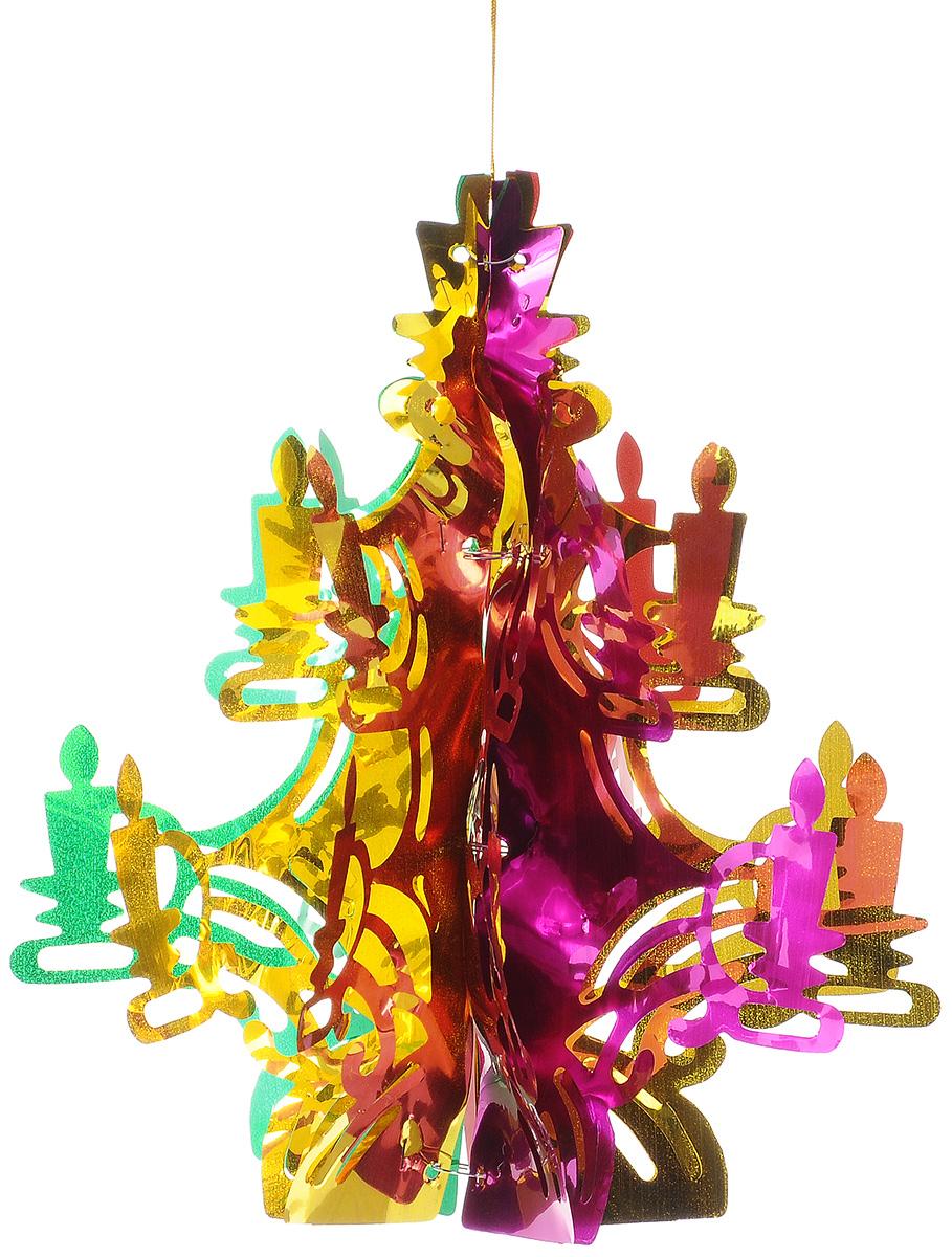 Гирлянда новогодняя Феникс-презент Елочка ажурная, цвет: зеленый, 14 х 31 см34380Новогодняя гирлянда Феникс-презент Елочка ажурная прекрасно подойдет для декора дома или офиса. Изделие, выполненное из ПЭТ (полиэтилентерефталата), легко складывается и раскладывается. Новогодние украшения несут в себе волшебство и красоту праздника. Они помогут вам украсить дом к предстоящим праздникам и оживить интерьер по вашему вкусу. Создайте в доме атмосферу тепла, веселья и радости, украшая его всей семьей.Размер гирлянды (в сложенном виде): 14 см х 31 см.