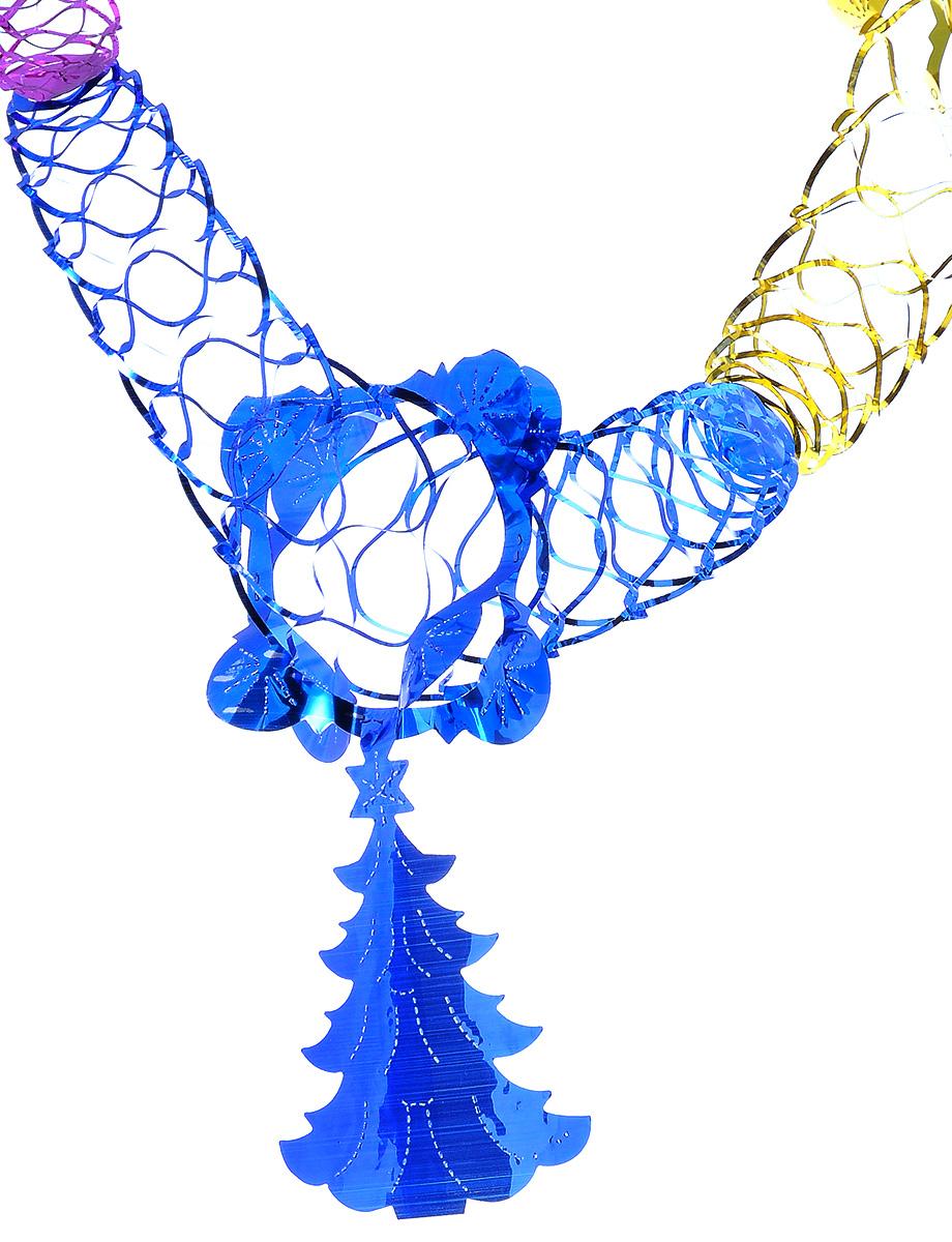 Гирлянда новогодняя Феникс-презент Елочка кудрявая, длина 2,5 м34384Новогодняя гирлянда Феникс-презент Елочка кудрявая состоит из основной части и фигурки ввиде елочки. Прекрасно подойдет для декора дома или офиса. Украшение, выполненное из ПЭТ(полиэтилентерефталата), легко складывается и раскладывается.Новогодние украшения несут в себе волшебство и красоту праздника. Они помогут вам украситьдом к предстоящим праздникам и оживить интерьер по вашему вкусу. Создайте в домеатмосферу тепла, веселья и радости, украшая его всей семьей.Размер основной части: 12 см х 12 см. Размер елочки: 14 см х 11,5 см.