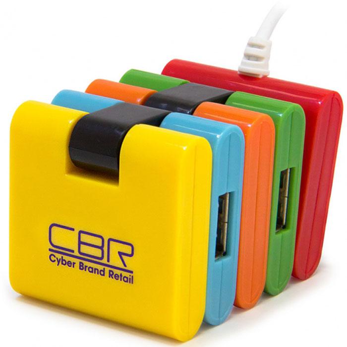 CBR CH 155 USB-концентраторCH 155CBR CH 155 - высокоскоростной USB-концентратор с 4 портами. Каждый порт имеет защиту от перегрузок и автоматическое распознавание максимальной скорости передачи данных. Уникальный складной корпус позволяет организовать одновременный доступ для совершенно разноформатных устройств: от компактных флэшек, до габаритных WiFi-адаптеров и блоков питания. Когда CH 155 не занят выполнением своих прямых функций, его можно использовать как антистресс - позитивная расцветка и складной корпус отвлекут от проблем, займут руки.Поддержка Plug&PlayПитание: USB-портСкорость передачи данных: до 480 Мбит/сФункция определения перегрузок по току и защиты выходных портовАвтоматическое распознавание максимальной скорости передачи данных на каждом порту