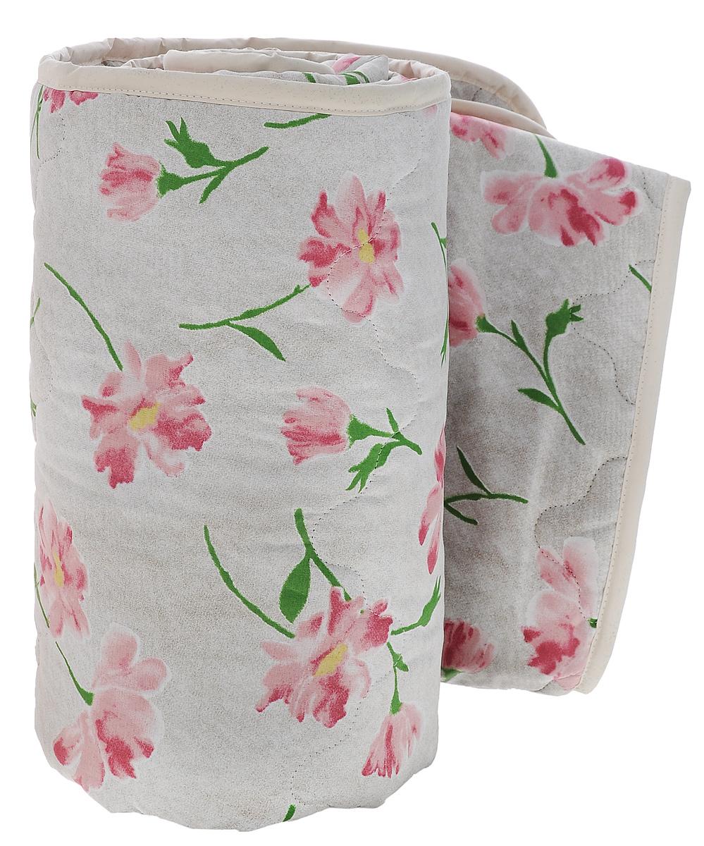 Одеяло всесезонное OL-Tex Miotex, наполнитель: полиэфирное волокно Holfiteks, цвет: серый, бордовые цветы, 172 см х 205 смМХПЭ-18-3_серый, бордовые цветыВсесезонное одеяло OL-Tex Miotex создаст комфорт и уют во время сна. Стеганый чехол выполнен из полиэстера и оформлен красивым рисунком. Внутри - наполнитель из полиэфирного высокосиликонизированного волокна Holfiteks, упругий и качественный. Холфитекс - современный экологически чистый синтетический материал, изготовленный по новейшим технологиям. Его уникальность заключается в расположении волокон, которые позволяют моментально восстанавливать форму и сохранять ее долгое время. Изделия с использованием Холфитекса очень удобны в эксплуатации - их можно часто стирать без потери потребительских свойств, они быстро высыхают, не впитывают запахов и совершенно гиппоаллергенны. Холфитекс также обеспечивает хорошую терморегуляцию, поэтому изделия с наполнителем из холфитекса очень комфортны в использовании. Одеяло с наполнителем Холфитекс порадует вас в любое время года. Оно комфортно согревает и создает отличный микроклимат. Рекомендации по уходу:- Стирка при температуре 30°С.- Не гладить.- Не отбеливать. - Нельзя отжимать и сушить в стиральной машине.- Сушить вертикально. Плотность: 300 г/м2.