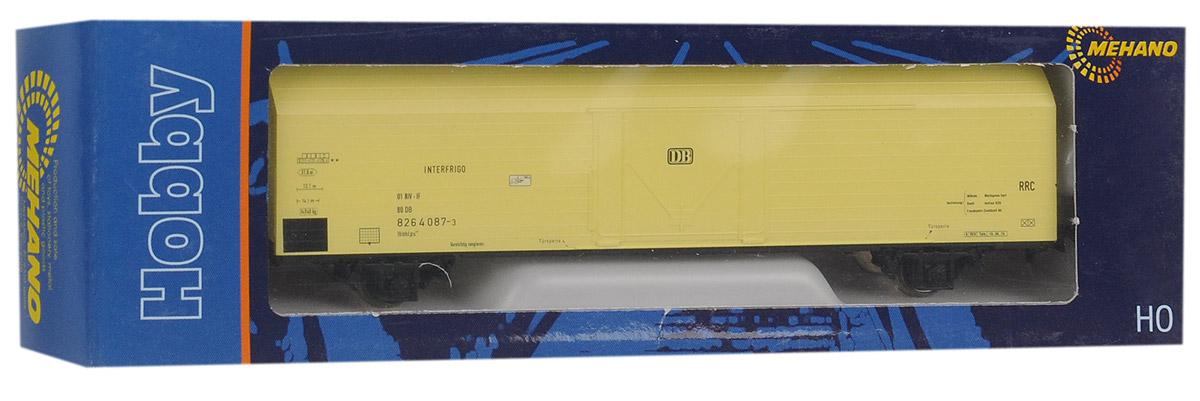 Mehano Вагон-термос IBBHS-410, цвет: желтый железные дороги mehano вагон рудовоз conrail