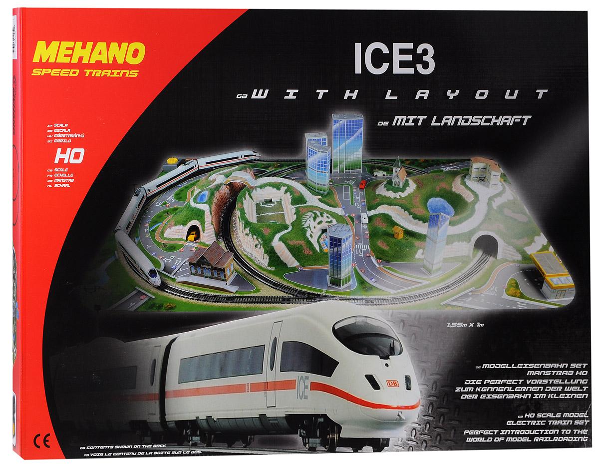 Железная дорога Mehano ICE 3 с ландшафтом (Сапсан) mehano железная дорога ice3 с ландшафтом