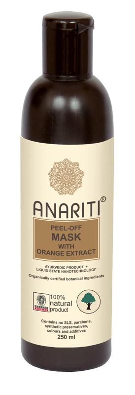 Anariti маска отшелушивающая для лица с экстрактом апельсина,250 г anariti vitalizing day cream
