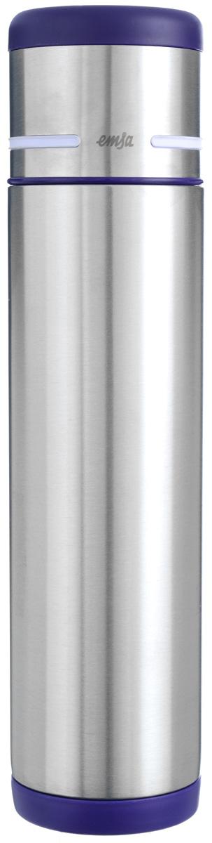 Термос Emsa Mobility, цвет: фиолетовый, стальной, 700 мл509227Простая и гармоничная форма термоса Emsa Mobility, выполненного из стали, удовлетворит желания любого потребителя. Термос оснащен герметичным клапаном и крышкой, которую можно использовать в качестве стакана, а благодаря системе высококачественной вакуумной изоляции он сохранит ваши напитки горячими или холодными надолго. Диаметр горлышка термоса: 5 см.Диаметр дна термоса: 7 см.Высота термоса (с учетом крышки): 29,5 см.Сохранение холодной температуры: 24 ч.Сохранение горячей температуры: 12 ч.