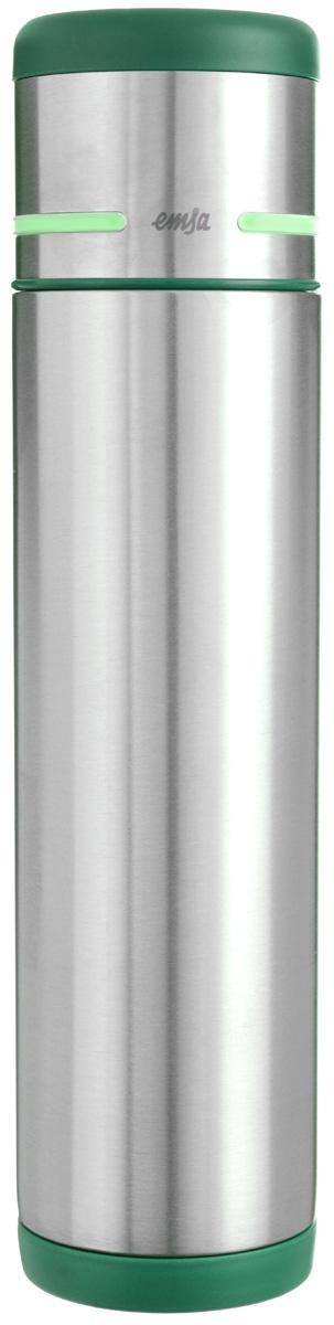 Термос Emsa Mobility, цвет: зеленый, стальной, 700 мл512960Простая и гармоничная форма термоса Emsa Mobility, выполненного из стали, удовлетворит желания любого потребителя. Термос оснащен герметичным клапаном и крышкой, которую можно использовать в качестве стакана, а благодаря системе высококачественной вакуумной изоляции он сохранит ваши напитки горячими или холодными надолго. Диаметр горлышка термоса: 5 см.Диаметр дна термоса: 7 см.Высота термоса (с учетом крышки): 29,5 см.Сохранение холодной температуры: 24 ч.Сохранение горячей температуры: 12 ч.