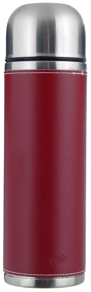 Термос Emsa Senator Class, цвет: красный, 0,7 л502436Простая и гармоничная форма термоса Emsa Senator Class, выполненного из стали, удовлетворит желания любого потребителя. Внешняя сторона изделия одета в кожаный чехол, что позволяет надежно держать его в руках. Термос оснащен герметичным клапаном и крышкой, которую можно использовать в качестве стакана, а благодаря системе высококачественной вакуумной изоляции он сохранит ваши напитки горячими или холодными надолго. Диаметр горлышка термоса: 5 см.Диаметр дна термоса: 8 см.Высота термоса (с учетом крышки): 26,5 см.Сохранение холодной температуры: 24 ч.Сохранение горячей температуры: 12 ч.