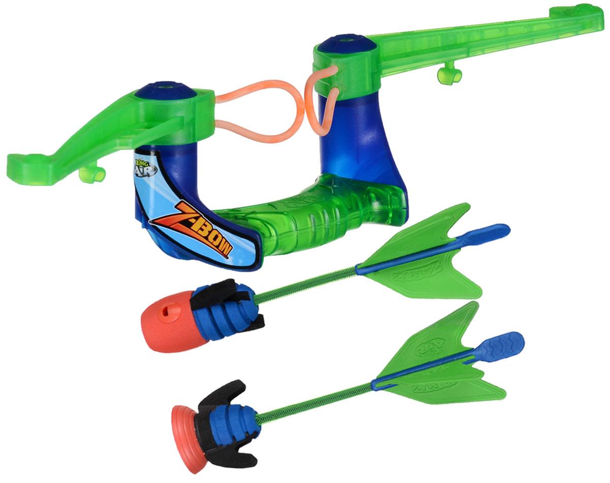 Zing Global Лук Air Z-Bow со стрелами цвет зеленый синий