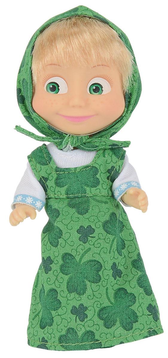 Simba Мини-кукла Маша в зеленом сарафане simba мини кукла маша в голубом сарафане
