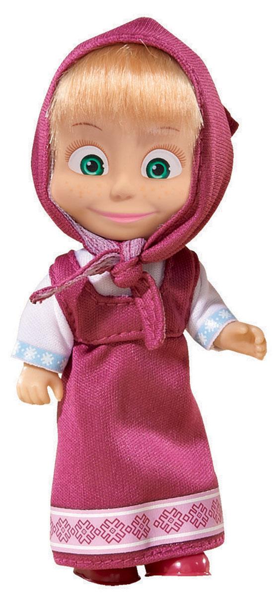 Simba Мини-кукла Маша в малиновом сарафане фигурки игрушки маша и медведь кукла маша