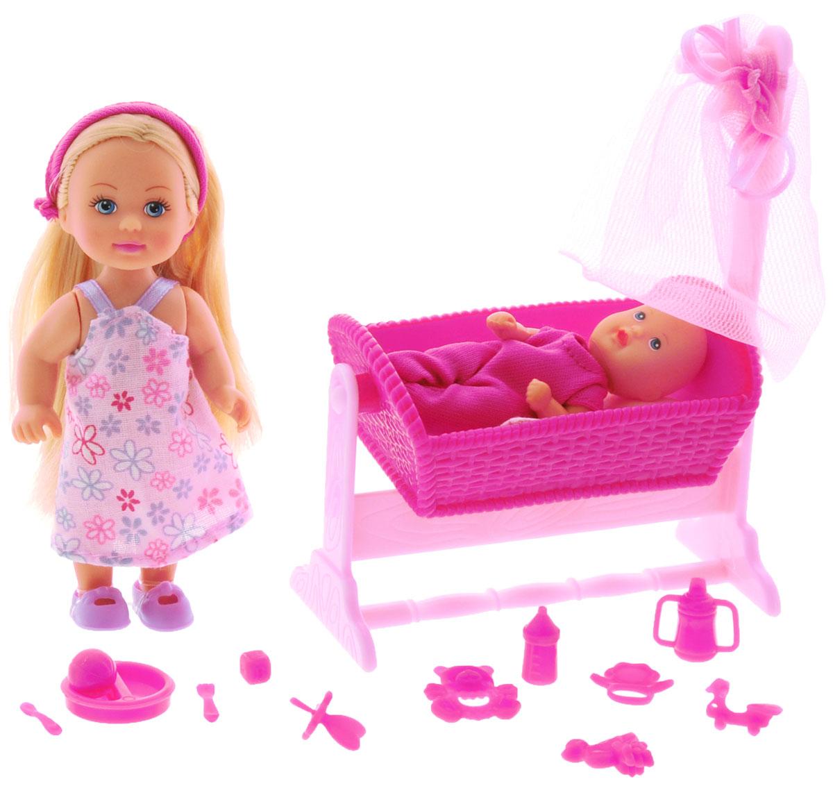 Simba Игровой набор Doll Cradle цвет темно-розовый simba игровой набор домик медведя