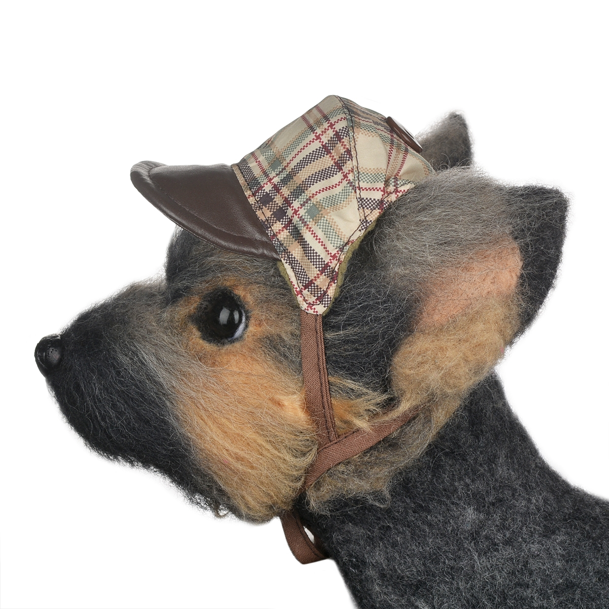 Кепка для собак Dogmoda Ватсон, унисекс, цвет: бежевый, коричневый. Размер 2 (M)DM-130003-2Стильная кепка Dogmoda Ватсон идеально подойдет для прогулок в прохладную погоду. Такая кепка обеспечит защиту от холода и ветра.Стильная кепка изготовлена из полиэстера, защищающего от ветра и снега, а подкладка выполнена из мягкого флиса, который обеспечивает отличный воздухообмен и превосходно сохраняет тепло.Модель оформлена стильным принтом в мелкую клетку. Изделие имеет козырек контрастного цвета. Шапка оснащена прорезями для ушек и фиксируется на голове питомца при помощи завязок.Оригинальный дизайн делает эту кепку модным и стильным предметом гардероба вашего любимца. В ней ваш питомец всегда будет в центре внимания!