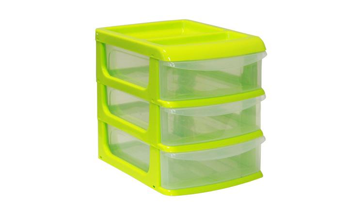 Бокс универсальный Idea, цвет: салатовый, прозрачный, 14,5 х 17 х 20 см, 3 секцииМ 2763_салатовыйУниверсальный бокс Idea выполнен из высококачественного пластика и имеет три удобные выдвижные секции. Бокс предназначен для хранения предметов шитья, рукоделия, хобби и всех необходимых мелочей. Изделие позволит компактно хранить вещи, поддерживая порядок и уют в вашем доме.Размер секции: 14,5 х 17 х 20 см.