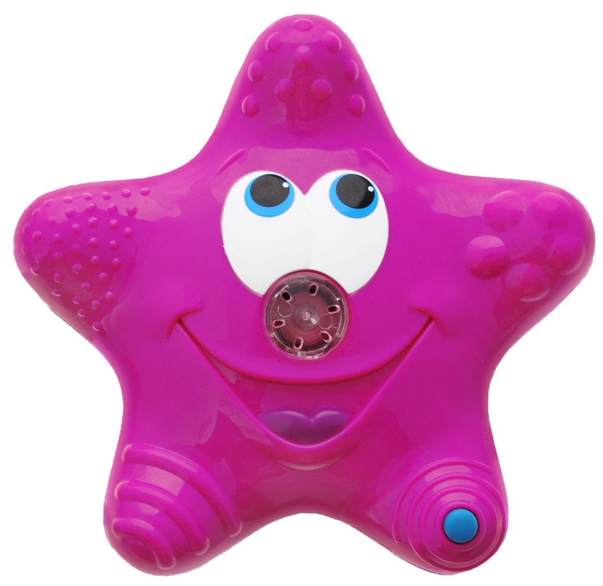 Munchkin Игрушка для ванны Звездочка цвет розовый синий munchkin игрушка для ванной змейка