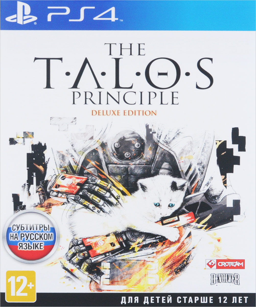 The Talos Principle. Deluxe Edition (PS4) видеоигра для ps4 медиа talos principle deluxe edition