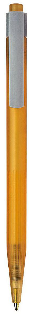 Schneider Ручка шариковая RO50 цвет корпуса оранжевыйS305-01/0_оранжевыйАвтоматическая шариковая ручка Schneider RO50 станет незаменимыми атрибутом учебы или работы. Корпус ручки выполнен из полупрозрачного пластика. Высококачественные светоустойчивые и водостойкие синие чернила позволяют добиться идеальной плавности письма. Ручка имеет практичный пластиковый клип для удобной фиксации на бумаге или одежде.Надежная ручка строгого классического дизайна станет верным помощником для студента и офисного работника