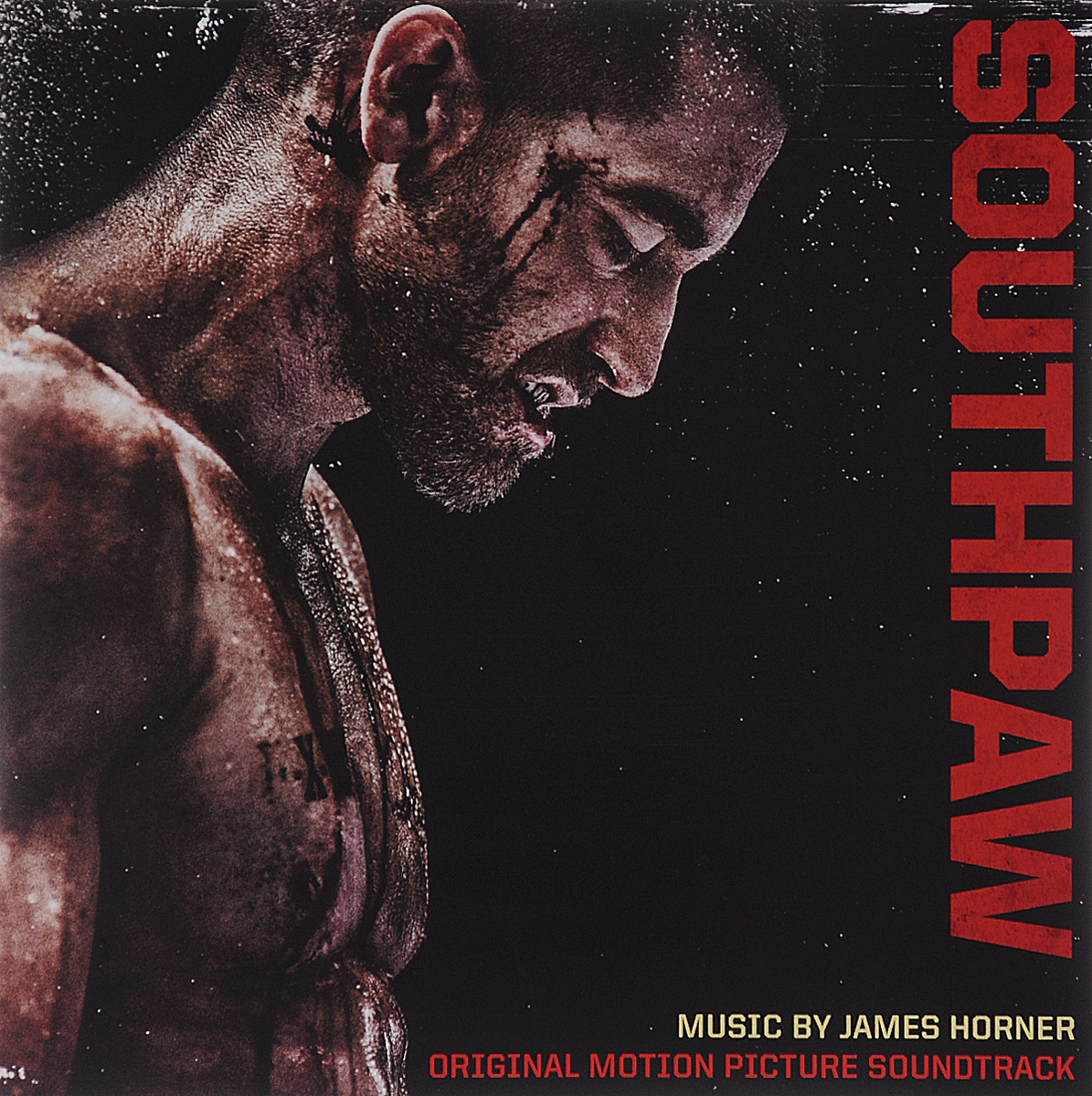 Southpaw. Original Motion Picture Soundtrack. Music By James Horner whiplash original motion picture soundtrack