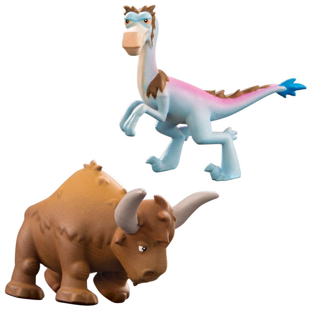 Хороший динозавр Набор фигурок Кеттл и Бабба набор фигурок good dinosaur кеттл и раптор 62305