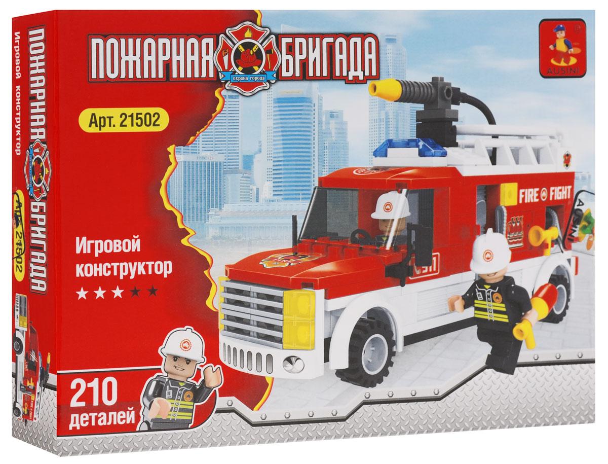 Ausini Конструктор Пожарная машина ausini конструктор гонки 2 в 1 25510