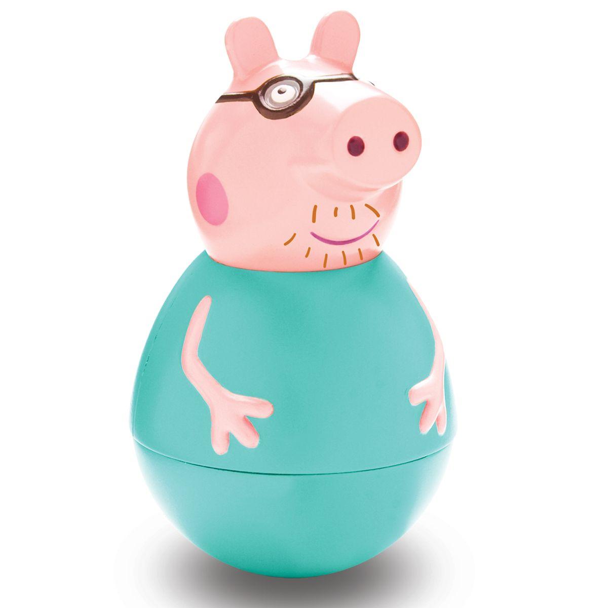Peppa Pig Неваляшка Папа Пеппы неваляшка папа свин peppa pig неваляшка папа свин