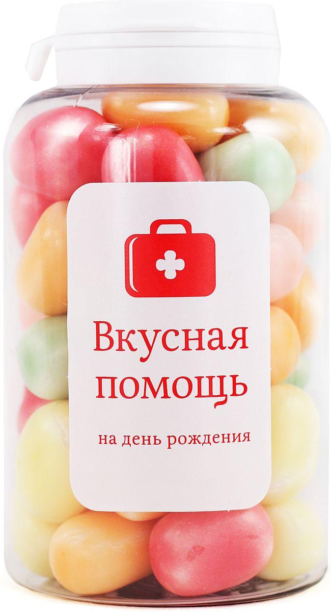 Конфеты Вкусная помощь На День рождения, 189 г конфеты вкусная помощь от офисной работы 250 мл