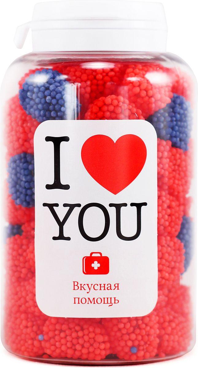 Конфеты Вкусная помощь Я тебя люблю, 250 мл конфеты вкусная помощь для счастья 150 мл