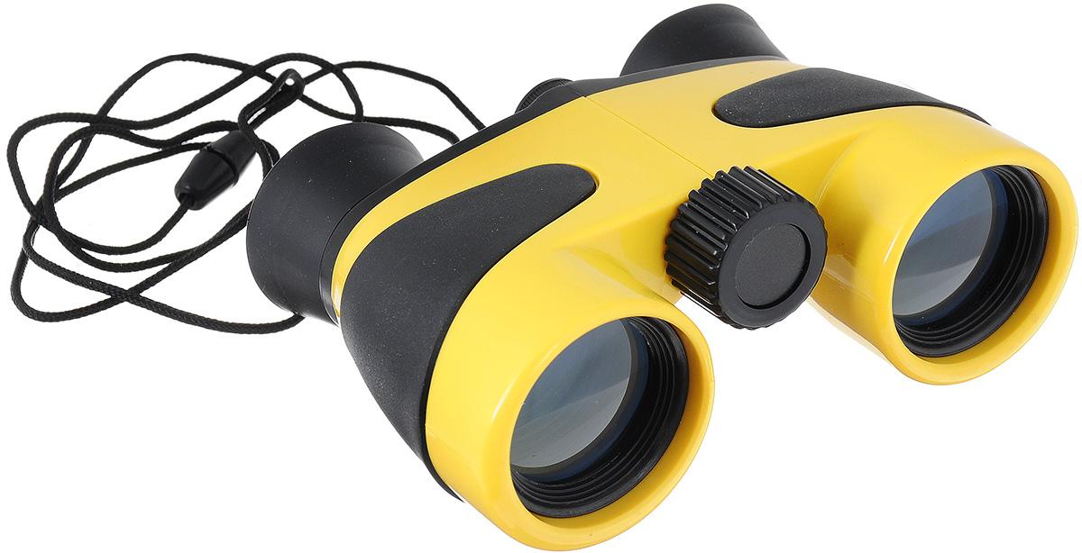 Бинокль детский Coghlan's, цвет: желтый, черный, 4х30 бинокль steiner discovery 8x44