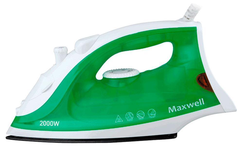 Maxwell MW-3054 утюг тепловентиляторы maxwell тепловентилятор maxwell 3455 mw bk мощность обогрева 1000 2000 вт