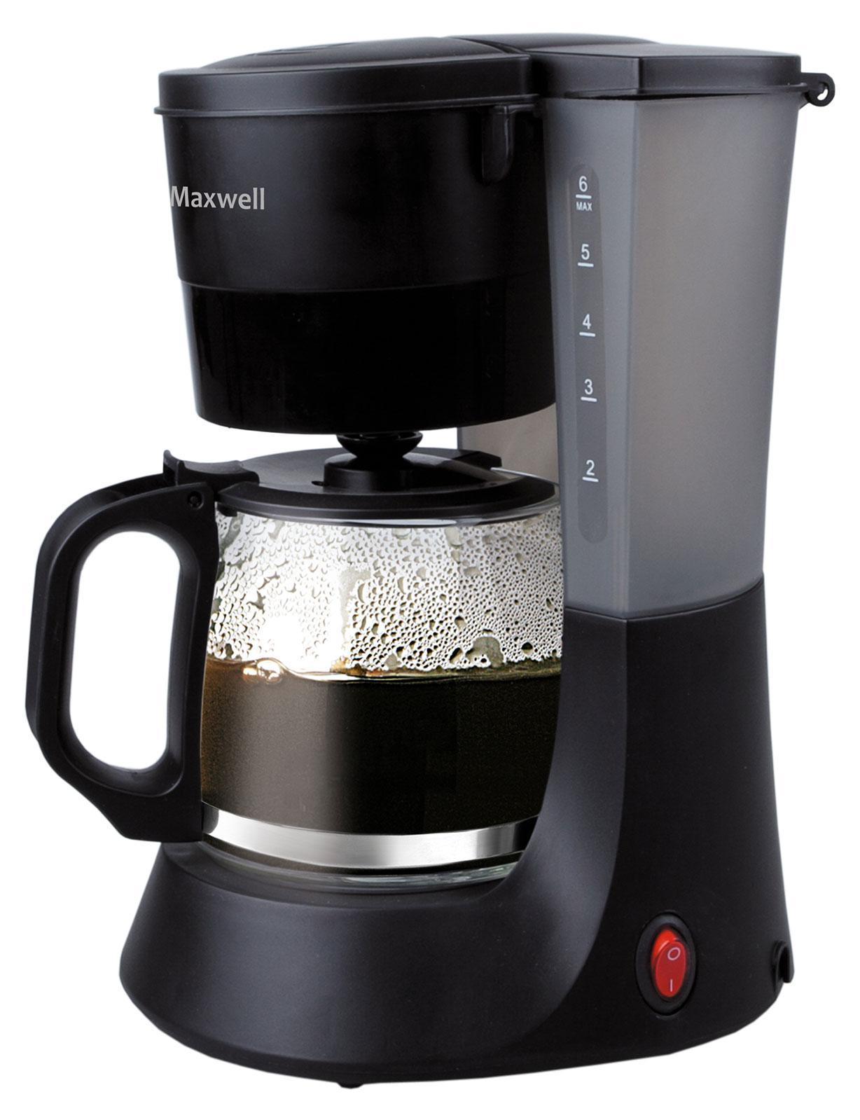 Maxwell MW-1650 кофеварка кофеварка нерж 670мл 6100 23 991470