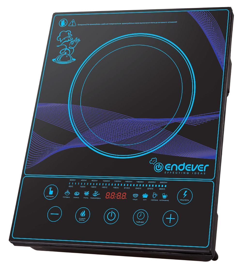 Endever IP-33 индукционная плита электрическая плита endever ip 28 закаленное стекло индукционная черный [80033]
