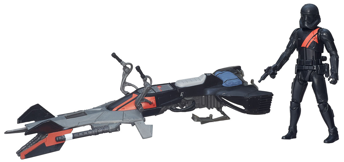 Star Wars Игровой набор Elite Speeder Bike & Stormtrooper star wars игровой набор resistance x wing & resistance pilot