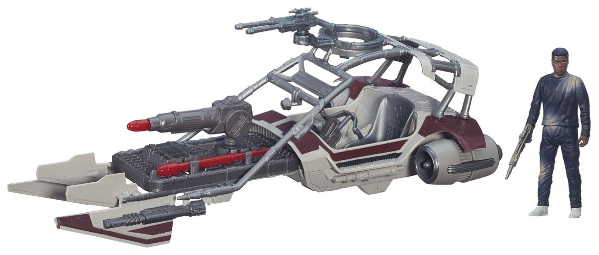 Star Wars Игровой набор Desert Landspeeder & Finn Jakku star wars игровой набор resistance x wing & resistance pilot