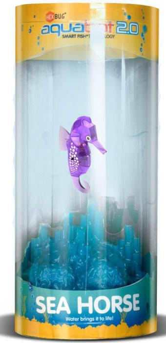 Hexbug Игровой набор Морской конек с аквариумом цвет фиолетовый стоимость