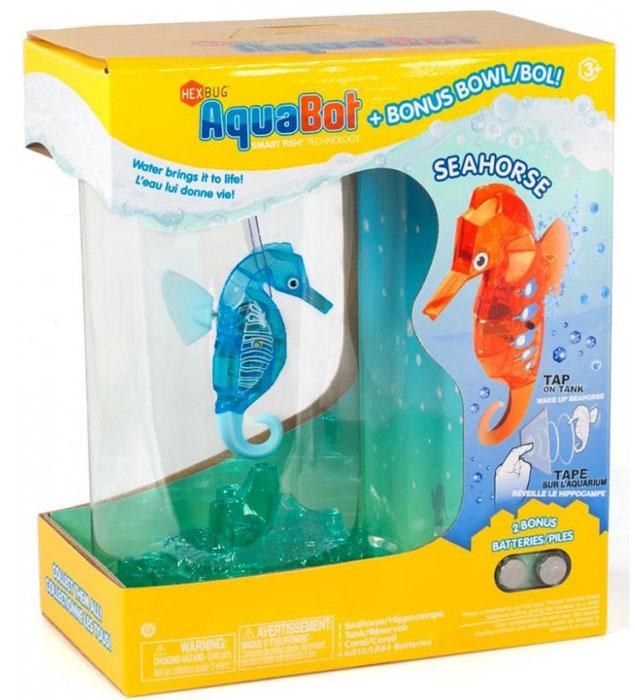 Hexbug Игровой набор Морской конек с аквариумом цвет голубой стоимость