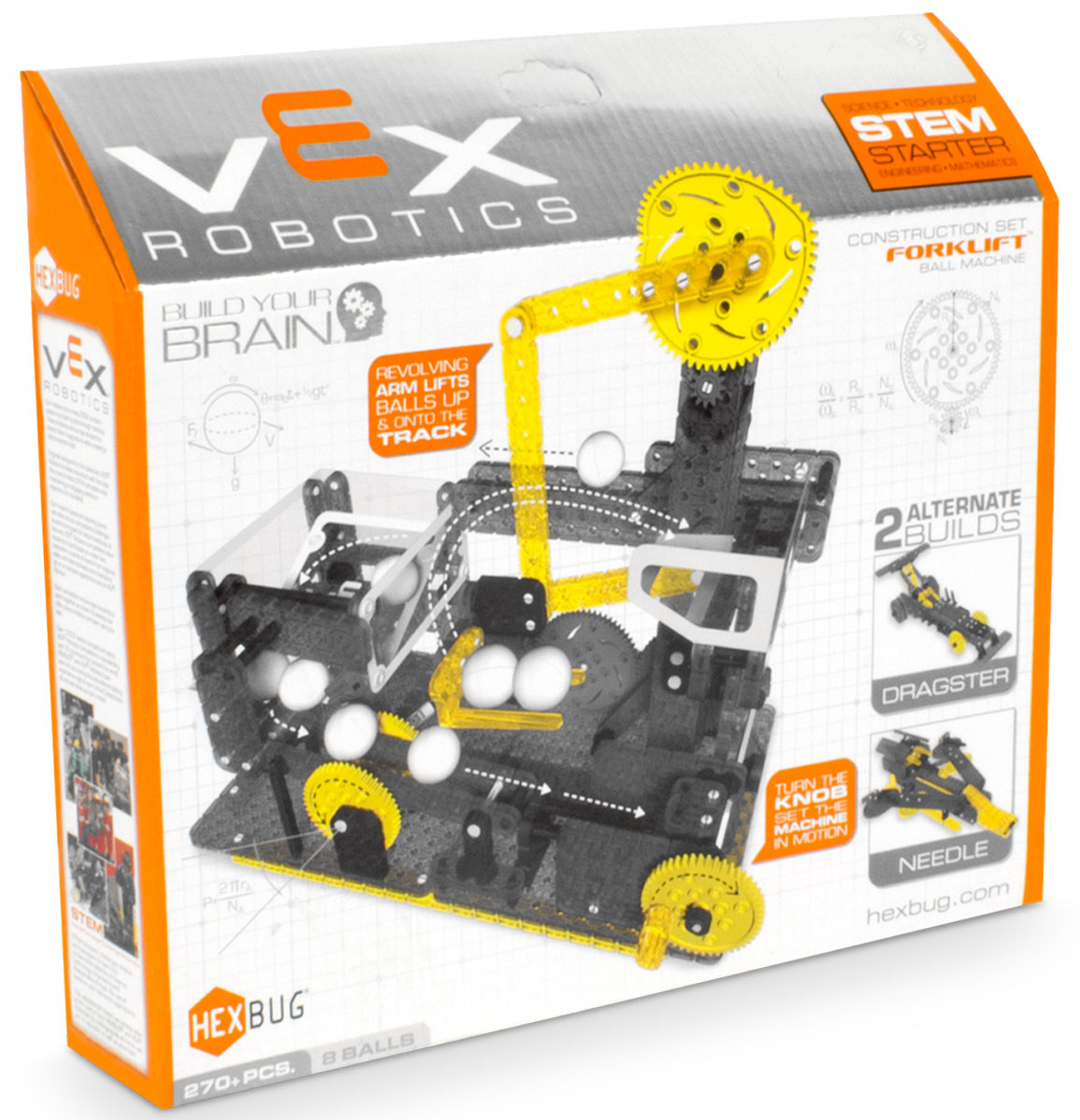 Hexbug Конструктор Vex Forklift Ball Machine