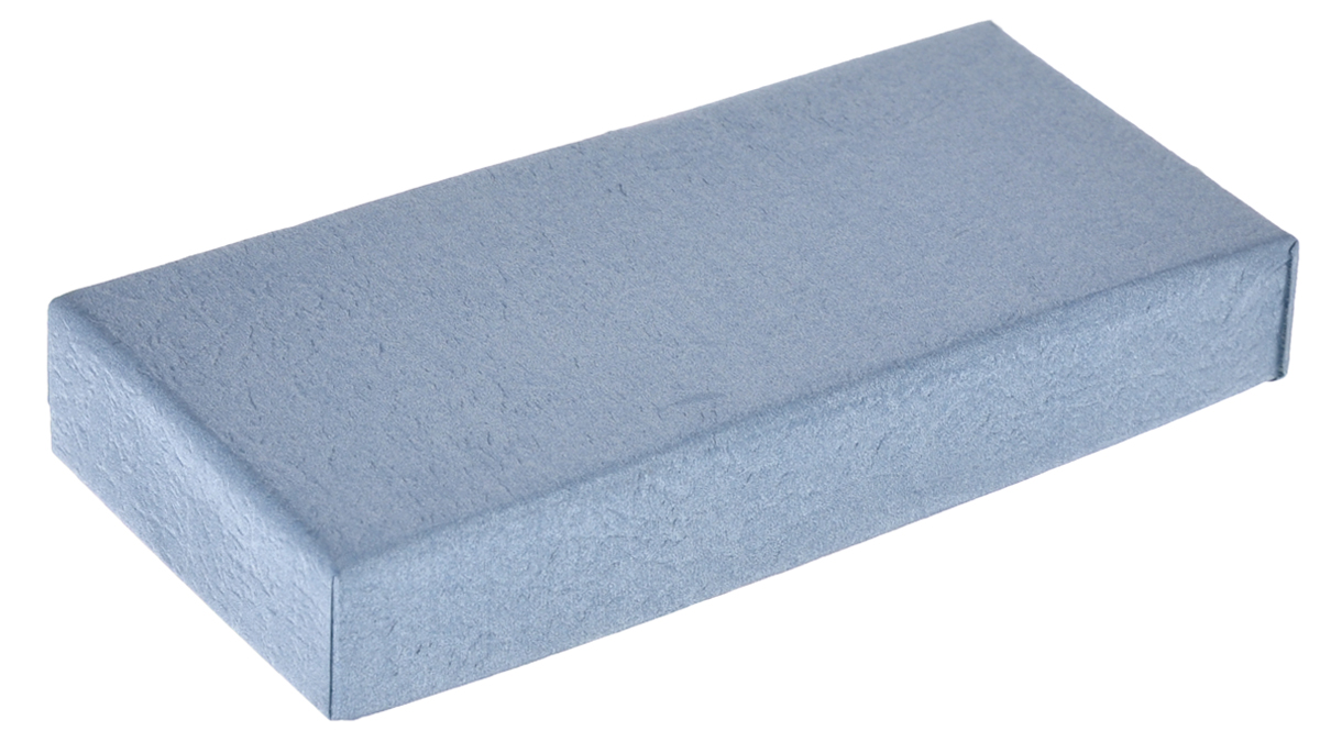 Подарочная коробка Феникс-презент, цвет: серо-голубой, 12 х 5,2 х 2 см36290Подарочная коробка Феникс-презент выполнена из мелованного, негофрированного картона. Коробка вместительная, закрывается крышкой.Подарочная коробка - это наилучшее решение, если вы хотите порадовать ваших близких и создать праздничное настроение, ведь подарок, преподнесенный в оригинальной упаковке, всегда будет самым эффектным и запоминающимся. Окружите близких людей вниманием и заботой, вручив презент в нарядном, праздничном оформлении.
