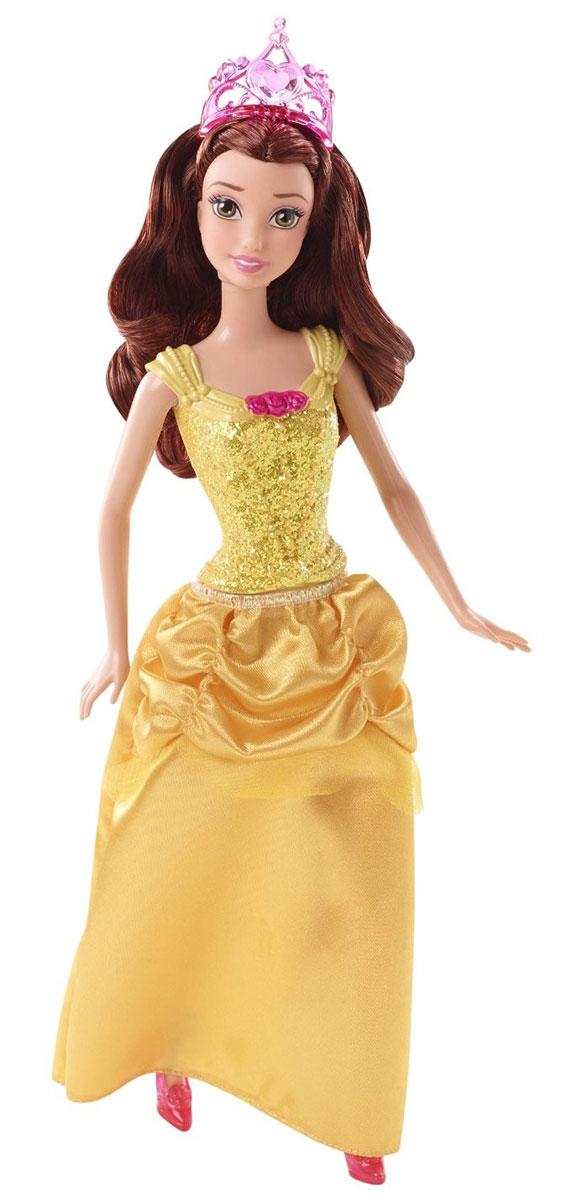 Disney Princess Кукла Белль цвет платья желтый disney princess мини кукла тиана цвет платья светло зеленый
