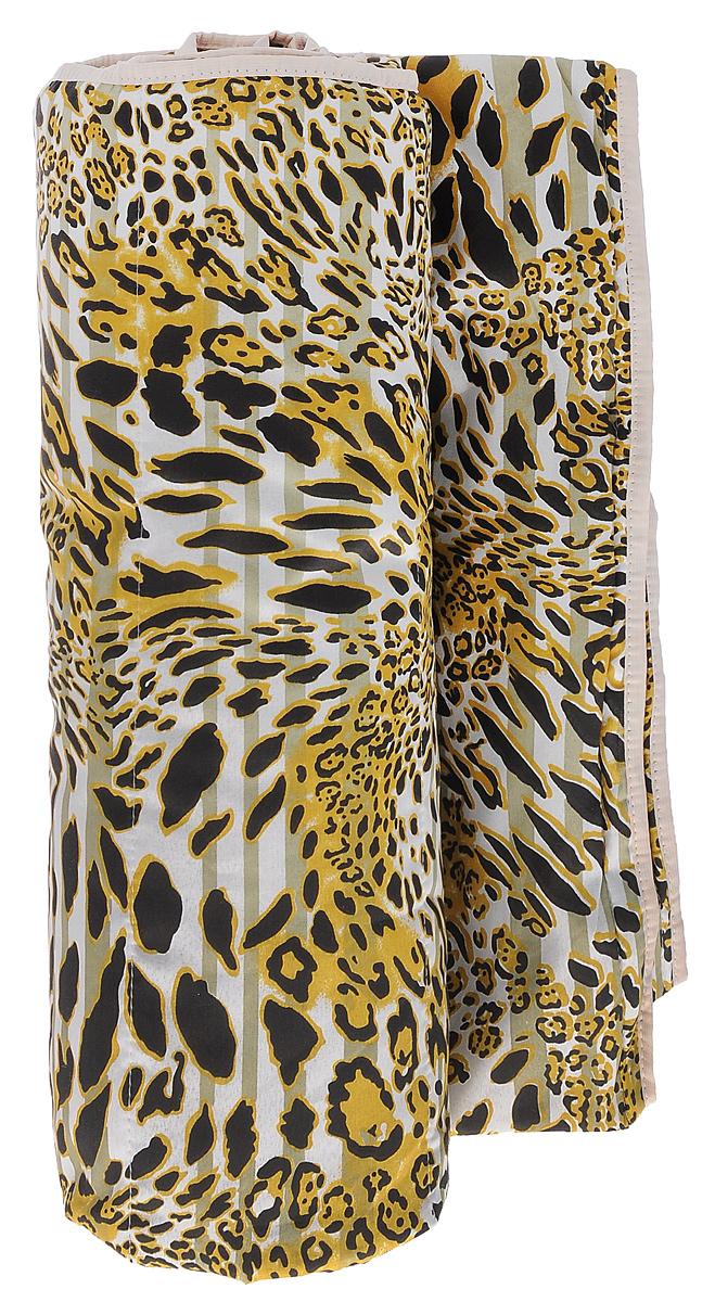 Одеяло летнее OL-Tex Miotex, наполнитель: полиэфирное волокно Holfiteks, цвет: леопардовый, 140 х 205 смМХПЭ-15-1_леопардовыйЛетнее одеяло OL-Tex Miotex создаст комфорт и уют во время сна. Стеганый чехол выполнен из полиэстера и оформлен красочным рисунком. Внутри - наполнитель из полиэфирного высокосиликонизированного волокна Holfiteks, упругий и качественный. Холфитекс - современный экологически чистый синтетический материал, изготовленный по новейшим технологиям. Его уникальность заключается в расположении волокон, которые позволяют моментально восстанавливать форму и сохранять ее долгое время. Изделия с использованием Холфитекса очень удобны в эксплуатации - их можно часто стирать без потери потребительских свойств, они быстро высыхают, не впитывают запахов и совершенно гиппоаллергенны. Холфитекс также обеспечивает хорошую терморегуляцию, поэтому изделия с наполнителем из холфитекса очень комфортны в использовании. Летнее одеяло с наполнителем Холфитекс прекрасно держит тепло, при этом оно очень легкое и уютное. Оно комфортно согревает и создает отличный микроклимат, под ним не будет жарко спать летом. За одеялом легко ухаживать, можно стирать в стиральной машинке.Рекомендации по уходу:- Ручная и машинная стирка при температуре 30°С.- Не гладить.- Не отбеливать. - Нельзя отжимать и сушить в стиральной машине.- Сушить вертикально. Плотность: 100 г/м2.